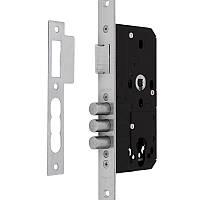Дверной замок Santos для металлических дверей 1-WAY DIN 972 SS UNIV BS55мм 72мм SP Португалия