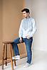 Мужская рубашка вышиванка Горы, фото 3