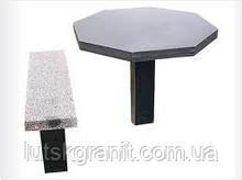 Столи і лавки з граніту