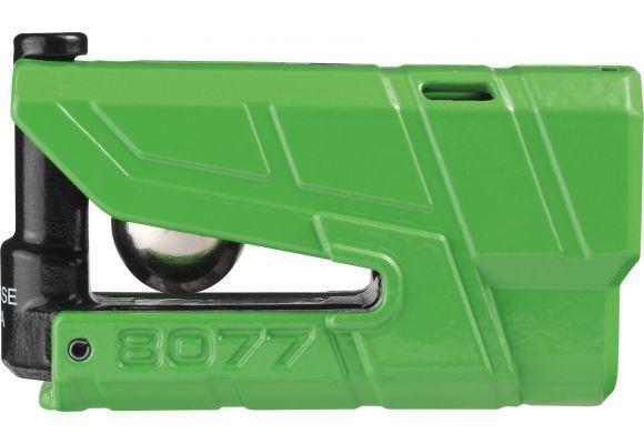 Замок на тормозной диск с 3D сигнализацией Abus 8077 Granit Detecto X-Plus, зеленый