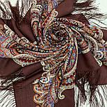 В ожидании праздника 1895-16, павлопосадский платок шерстяной с шелковой бахромой, фото 5
