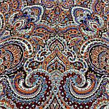 В ожидании праздника 1895-16, павлопосадский платок шерстяной с шелковой бахромой, фото 8