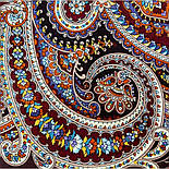 В ожидании праздника 1895-16, павлопосадский платок шерстяной с шелковой бахромой, фото 4
