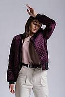 Куртка-бомбер женская «Роcси» (S, M | Серая, марсала, черная)