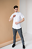 Мужская вышиванка с коротким рукавом Тристан, фото 2