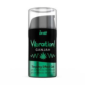 Жидкий вибратор Intt Vibration Ganjah (15 мл)