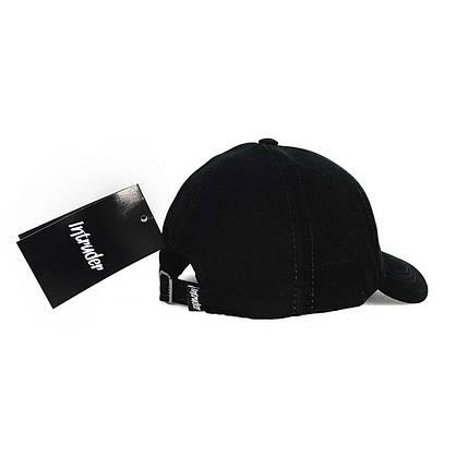 Кепка Intruder мужская | женская черная брендовая + Фирменный подарок, фото 3