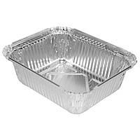Пищевая алюминиевая ЭКО емкость  из  фольги 430ml (SP24L), 100шт/уп