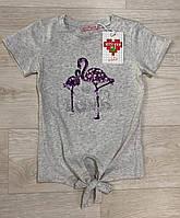 Футболка для девочек, Setty Koop, 110/116,134/140 см  № 9005