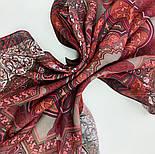 10394-6, павлопосадский платок из вискозы с подрубкой 80х80, фото 8