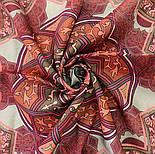 10394-6, павлопосадский платок из вискозы с подрубкой 80х80, фото 6