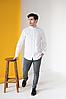 Мужская сорочка с белой вышивкой Борислав, фото 2