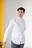 Мужская сорочка с белой вышивкой Борислав, фото 3