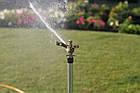 Дождеватель Presto-PS ороситель импульсный для газона металлический с резьбой 1/2 дюйма (8104), фото 2