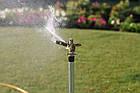 Дождеватель Presto-PS ороситель импульсный для газона металлический с резьбой 1/2 дюйма (8104), фото 3