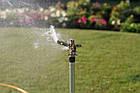 Дождеватель Presto-PS ороситель импульсный для газона металлический с резьбой 1/2 дюйма (8104), фото 4