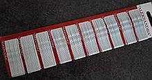 Невидимки Олександра 4,5 см білі 100 шт