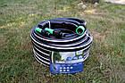 Шланг садовый Tecnotubi Euro Guip Black для полива диаметр 1/2 дюйма, длина 50 м (EGB 1/2 50), фото 5