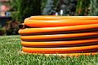 Шланг садовый Tecnotubi Orange Professional для полива диаметр 5/8 дюйма, длина 15 м (OR 5/8 15), фото 3