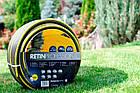 Шланг садовый Tecnotubi Retin Professional для полива диаметр 3/4 дюйма, длина 25 м (RT 3/4 25), фото 3