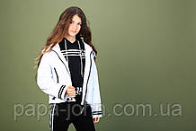 Курточка вітровка, білий, Моне, р. 122