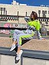 Женский спортивный комбинезон с яркими вставками 71so893, фото 2