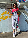 Женский спортивный комбинезон с яркими вставками 71so893, фото 3