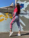 Женский спортивный комбинезон с яркими вставками 71so893, фото 4
