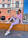 Женский спортивный комбинезон с яркими вставками 71so893, фото 6