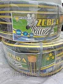 """Шланг поливочный  садовый Зебра диаметр 1"""" на метраж"""