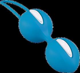 Вагинальные шарики Fun Factory SMARTBALLS DUO голубой
