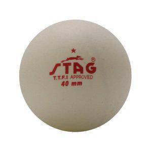 Шарики для наст. тенниса Stag One Star White Ball 6 шт, фото 2