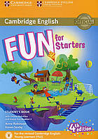 Книга Fun for Starters. Student's Book with Online Activities with Audio and Home Fun Booklet 2