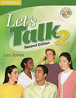 Книга Let's Talk 2. Second Edition. Student's Book (+ CD-ROM)