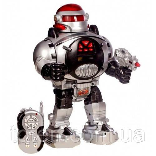 """Робот на радіоуправлінні 28083 """"Воїн Галактики - Космічний Воїн"""" стріляє дисками для дітей M 0465 U/R Т"""