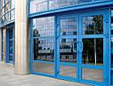 Двери из алюминиевого профиля под заказ, фото 3