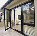 Двери из алюминиевого профиля под заказ, фото 2