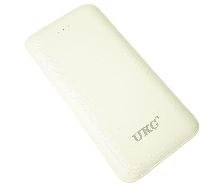 УМБ портативное зарядное Power Bank UKC LP303 10000 mah со встроенными кабелями 6929