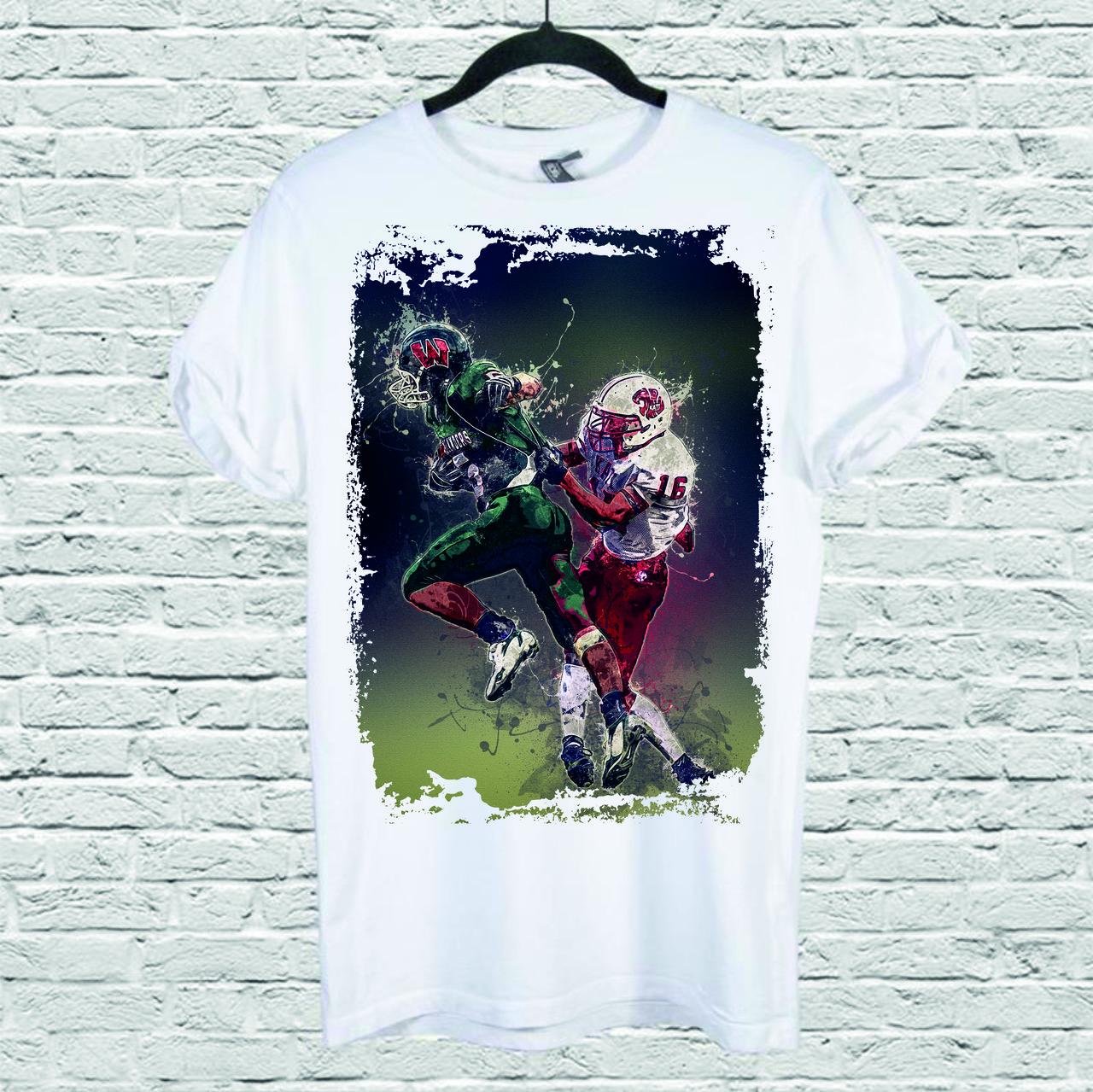 Футболка мужская с принтом Football_2