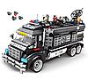 Конструктор Полицейский фургон-база Sembo Block 102477 1164 детали, фото 3