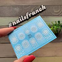 Слайды 3D наклейки для маникюра