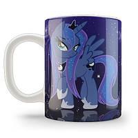 Кружка чашка Принцесса Луна My little pony