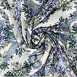 Кружевное настроение 1886-0, платок из вискозы с подрубкой, фото 4