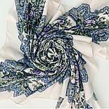 Кружевное настроение 1886-0, платок из вискозы с подрубкой, фото 9