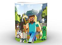 Кружка Gee! Minecraft Майнкрафт постер MС.02.003