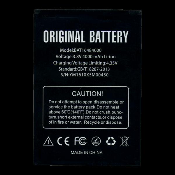 Батарея Doogee X5 MAX Pro BAT16484000 4000 мА*ч