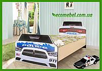 """Подростковая кровать """"Полиция"""" венге светлый"""