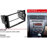 Переходная рамка ACV Chevrolet, Hummer (281238-04), фото 2