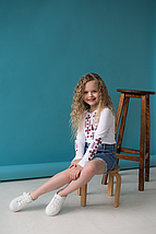 Трикотажная вышиванка для девочки, фото 2