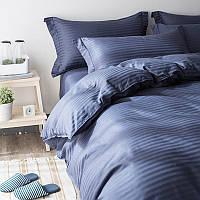 Двуспальный комплект постельного белья евро 200*220 сатин (12851) TM КРИСПОЛ Украина